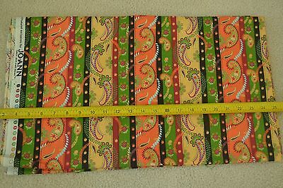 By The Half Yard  43  Wide  Bright Stripes On Quilters Cotton  Joann  C2498