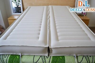 Used 2 Select Comfort Sleep Number Air Bed Chamber   Zipper Queen Size Mattress