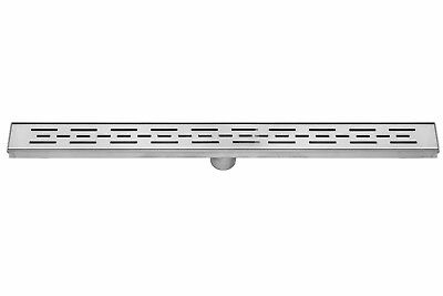 DreamDrain Linear Shower Drain Bars - 32 Inch, Brushed Stain