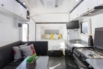 19.6 FT Goldstar RV Setup for Free Camping Berrilee Hornsby Area Preview
