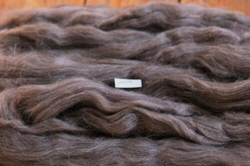 100g-needle felting wool/felting wool tops/roving/spining/weaving- (jacobs grey)