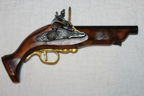 ANTIQUE REPLICA NON-FIRING MOVIE PROP PIRATE PISTOL GUN COSPLAY WOOD METAL #15
