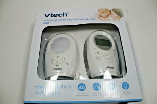 VTech DM1211 Enhanced Range Digital Audio Baby Monitor with Night Light