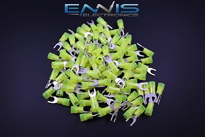 10-12 Gauge Nylon Spade 10 Connector 25 Pk Crimp Terminal Awg Electrical