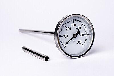 600°C Thermometer Ofenthermometer Backofenthermometer 100 bis 800 mm Schaftlänge online kaufen