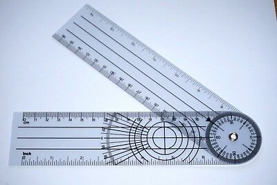Brand New 360 Degree Spinal Goniometer Ruler Expands To 14 Us Seller