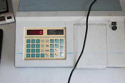 Hach Dr3000 Spectrophotometer. Unit Is Tested