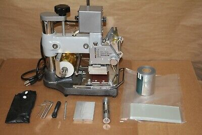 Tj-90a Hot Foil Stamping Machine With Extras