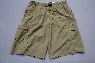 Columbia Lightweight Nylon Cargo Hiking, Climbing Shorts. Men's Size S, MINT!! ()