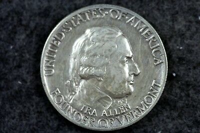 Estate Find 1927 - Vermont Commemorative Half Dollar!!  #H5489