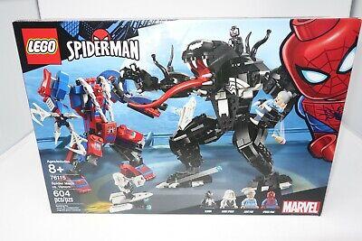 LEGO Spiderman Spider Mech vs. Venom 76115 (New Sealed Box)