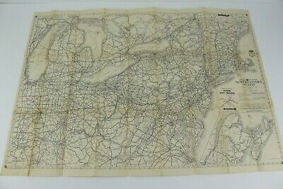 1941 AAA Northeastern States Road Maps New York New Jersey Pennsylvania Kentucky for sale  Shipping to Canada