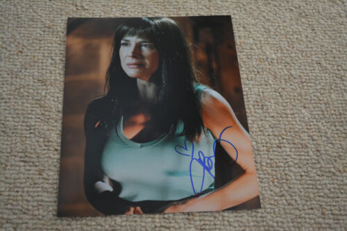 JULIE BENZ signed Autogramm In Person 20x25 cm SAW