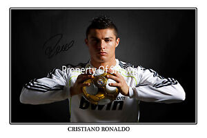 CRISTIANO-RONALDO-SIGNED-AUTOGRAPH-PHOTO-PRINT-POSTER-Real-Madrid-soccer-star