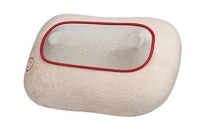 Shiatsu-Massagenkissen MC 82-E mit 4 rotierenden Massageköpfen & Wärmefunktion