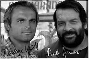 Bud Spencer u.Terence Hill ++Autogramme+Film Legenden+