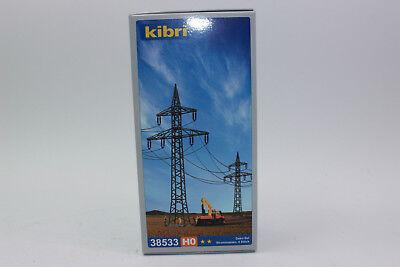 Kibri 38533 4 Postes de Electricidad 1:87 H0 Nuevo en Emb. Orig.