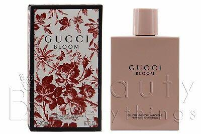 Gucci Bloom Perfumed Shower Gel 6.7oz / 200ml NIB Sealed For Women
