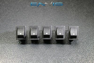 5 Pcs Mini On Off Rocker Switch 12 V 10 Amp 2 Pin Toggle 12 34 Hole Ec-1210