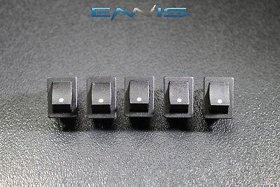 5 Pcs Mini On Off Rocker Switch 12 V 10 Amp 2 Pin Toggle 12 34 Hole Ec-1210
