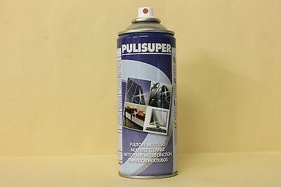 PULISUPER detergente speciale carrozzeria PULITORE MULTIUSO 12pz Spray 400 ml