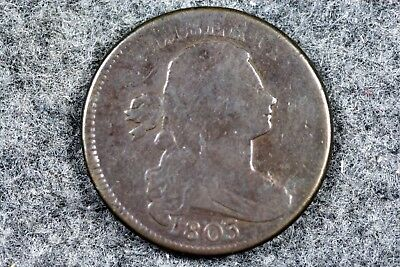 Estate Find 1803 - Draped Bust Large Cent!!!  #H5523