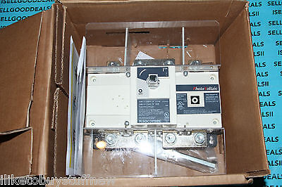 Socomec 27dc 4021 Sirco Dc 4x250a F Disconnect Switch 250a Dc New