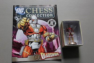 Eaglemoss Dc Comics Chess Super Hero Collection Deadshot  39 Jla Lead Figure