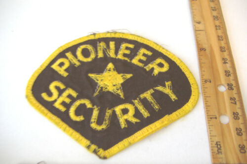 ~PIONEER SECURITY~NEVADA~FABRIC PATCH~