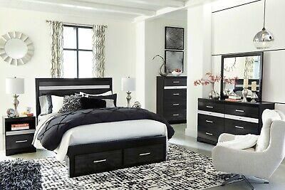 Ashley Furniture Starberry Queen Panel Storage 7 Piece Bedroom Set ()