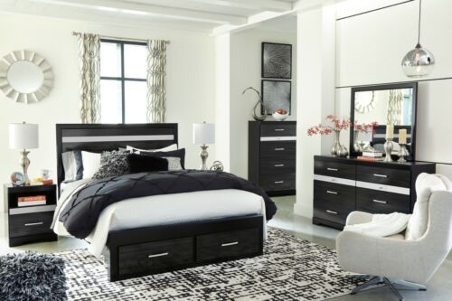 Ashley Furniture Starberry Queen Panel Storage 7 Piece Bedroom Set