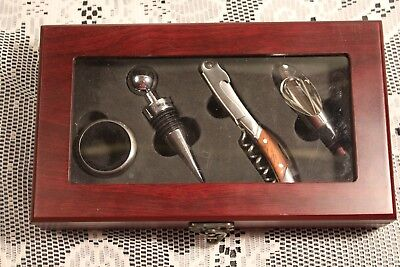 4 Piece Set Wine Tool Accessory Kit TJ Max