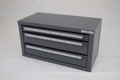 HUOT 13590   TAPS / DRILLS DISPENSER 6-32 to 1/2-20