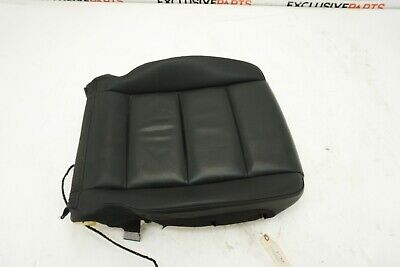 2004-2011 Audi A6 C6 S6 OEM Front Left Driver Seat Lower Cushion Black Leather
