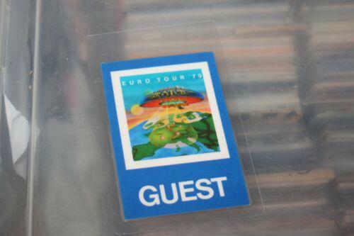 Boston  - Laminated Backstage Pass   - FREE POSTAGE -