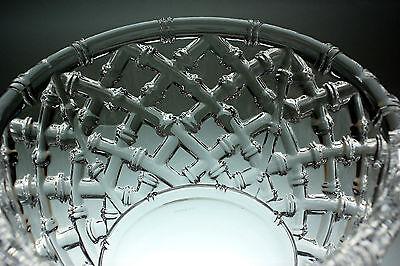 Tiffany & Co Glas Schale Crystal Bowl rund starkes Relief-Dekor Rarität