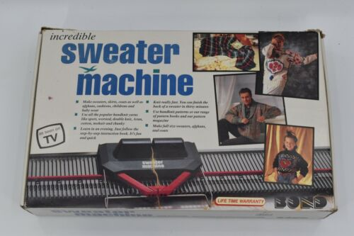 Bond Incredible Sweater Knitting Machine Complete Made in England New open box
