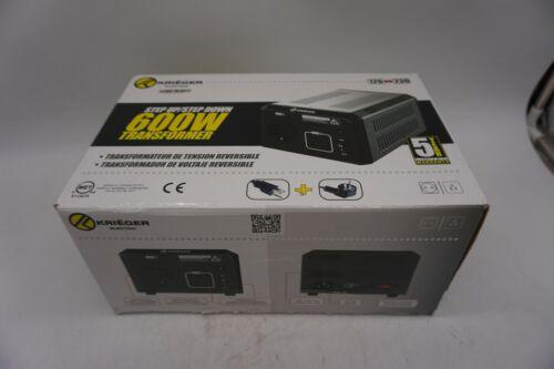 Krieger 600 Watt Voltage Transformer