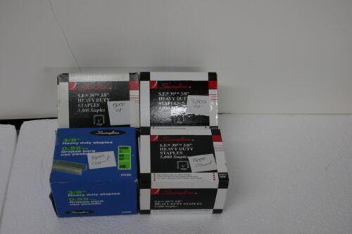 "Swingline 79398 SF39 Heavy Duty 3/8"" Staples 15,150 staples"
