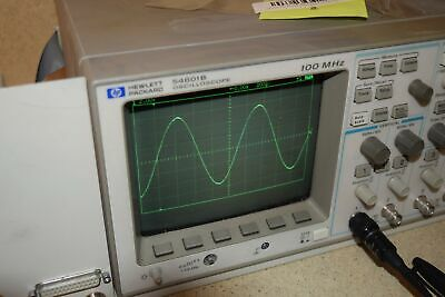 Hewlett Packard 54601b Oscilloscope 100 Mhz -tested Yr1
