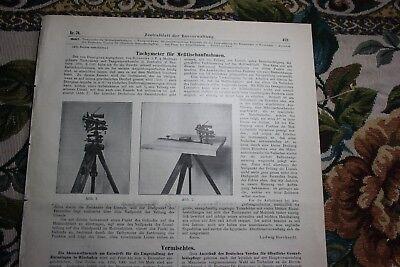 1905 76 / Tachymeter von Optiker Reinecke aus Hannover