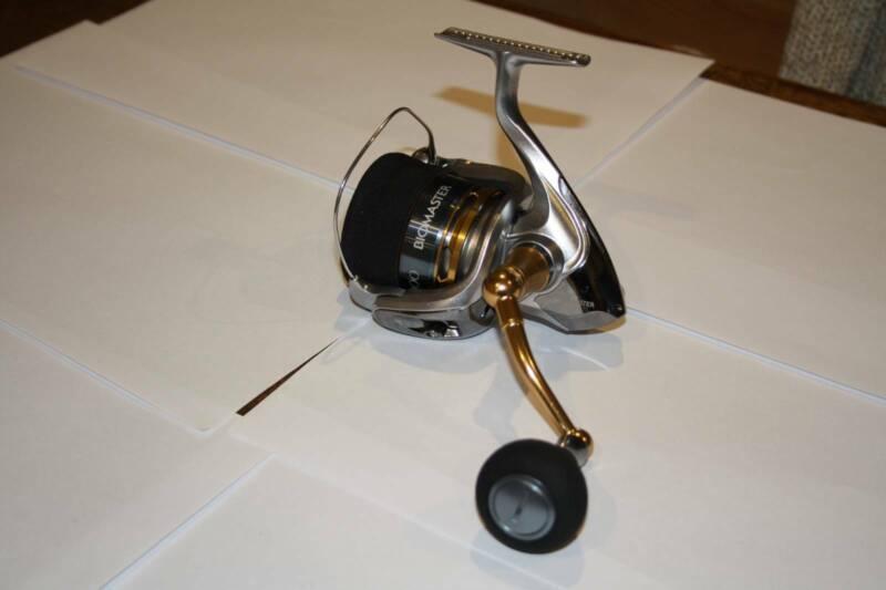 Used Shimano Fishing Reels Saragosa, Biomaster, Thunnus and
