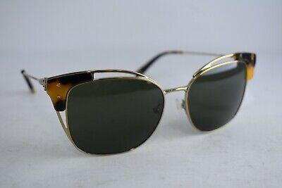 TORY BURCH Gold Tort Modified Cat Eye Sunglasses - (Tory Burch Metal Cat Eye Sunglasses)