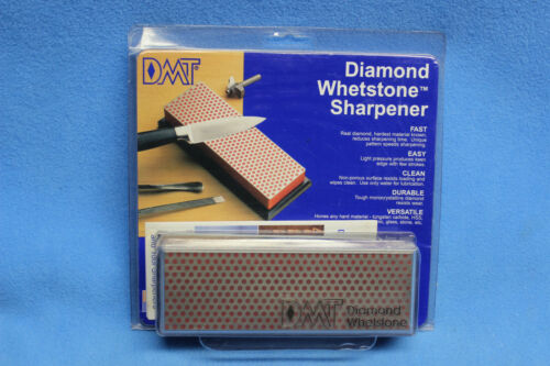 DMT Diamond Whetstone Sharpener W6FP Knives Broadheads Fish Hooks Skates Etc