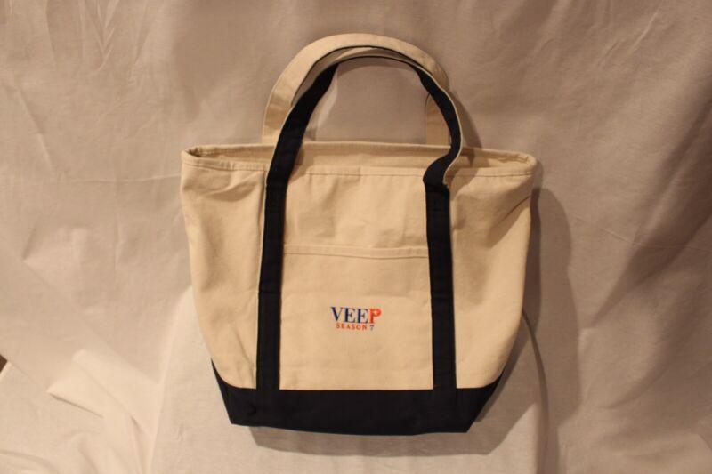 HBO Veep canvas tote bag, crew item.