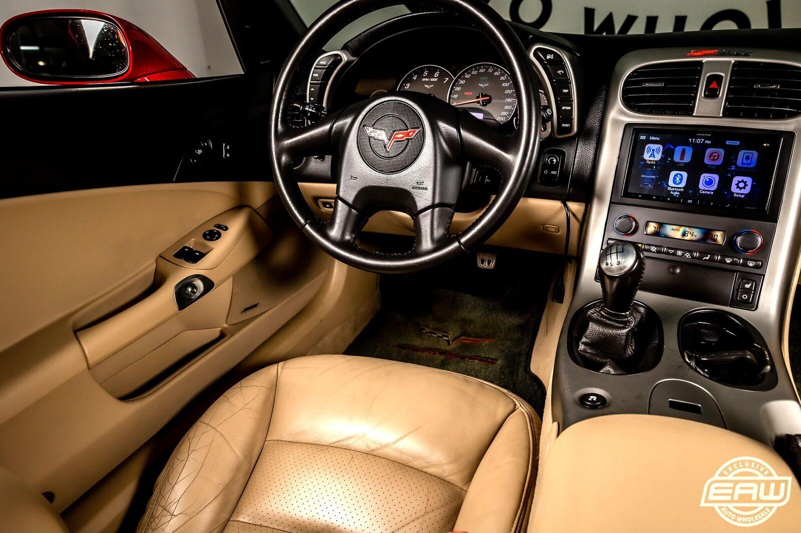 2005 Red Chevrolet Corvette Coupe  | C6 Corvette Photo 7