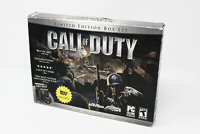 Call of Duty Limited Edition Box Set Best Buy Exclusive - PC FPS - See Desc