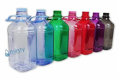 - Half Gallon Water Bottle Handle Drinking Gym Canteen Jug Container Colors 64 oz