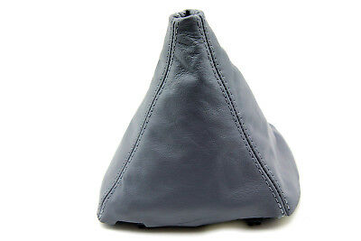 Manual Shift Boot Leather Synthetic for BMW E39 96-03 525 528 530 Gray