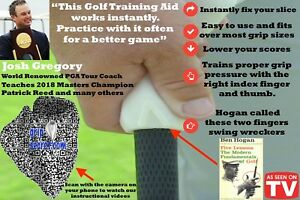 Golf Training Aids - Grip Secret - Works Instantly - Left Handed Version